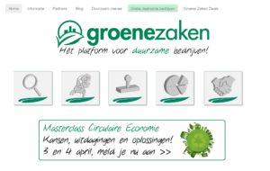 Happy Planet Professionals als keurmerk opgenomen op website Groene Zaken