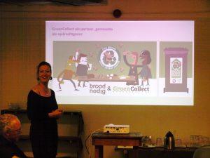 Paula Zwitser van BroodNodig inspireert leden op nazomerborrel