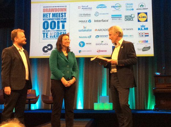 Nederlandse editie Drawdown: de 100 meest effectieve klimaatoplossingen