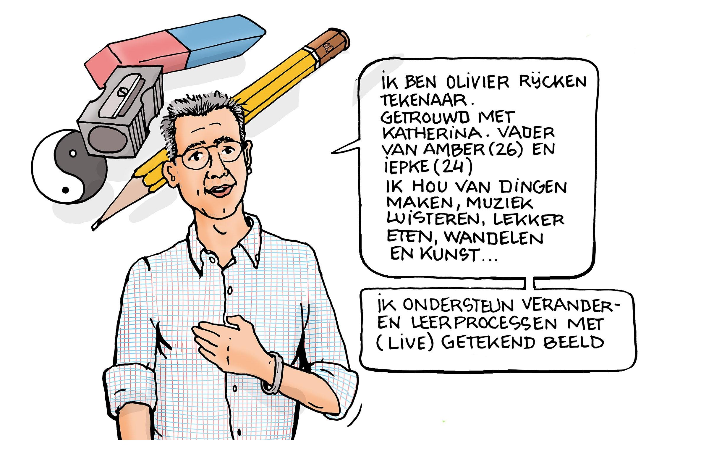 Nieuwe HPP'er Olivier Rijcken tekent voor verandering